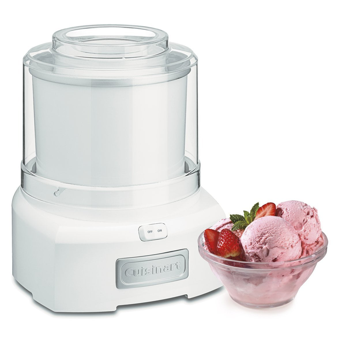 Cuisinart Ice 21 15 Quart Frozen Yogurt Ice Cream Maker White