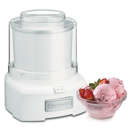 Cuisinart ICE-21 1.5 Quart Frozen Yogurt-Ice Cream Maker (White) (Frozen Custard Machine)