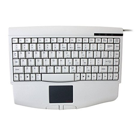 Adesso Mini Touchpad USB Keyboard for Windows with Wrist Rest (ACK-540UW)