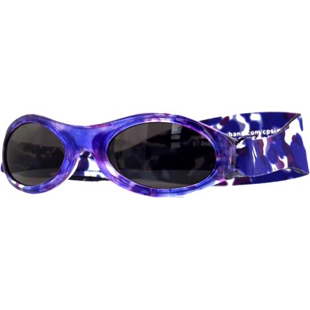 BANZ: Adventure Banz - Kids Sunglasses - Purple Crush  | Age: 3-6Yr - Baby Banz Adventure Sunglasses