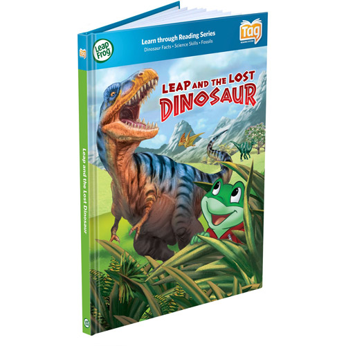 LeapFrog LeapReader Book: Leap and the Lost Dinosaur by LeapFrog