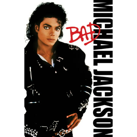 Michael Jackson Bad Album Photo Art Smooth Criminal Pop Music Poster - 11x17 inch