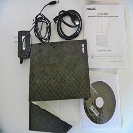 ASUS (RT-AC68R) Wireless-AC1900 Dual-Band Gigabit (Asus Rt Ac68r Vs Asus Rt Ac68u)