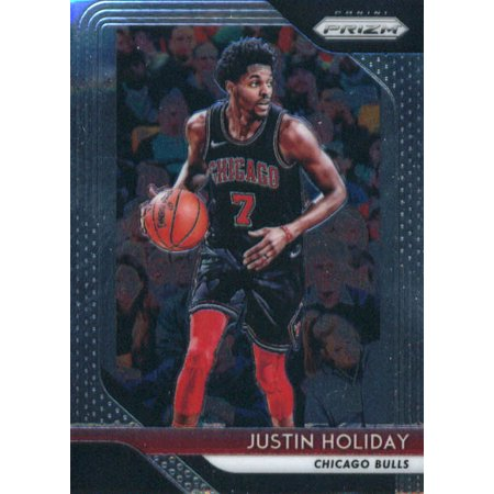 reputable site b290b 80510 2018-19 Panini Prizm #150 Justin Holiday Chicago Bulls Basketball Card