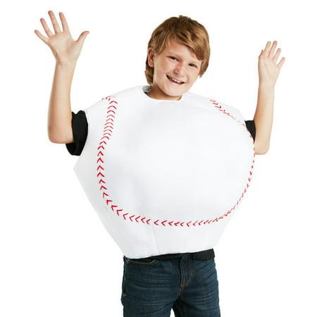 Baseball Girl Halloween (Child Baseball Costume)