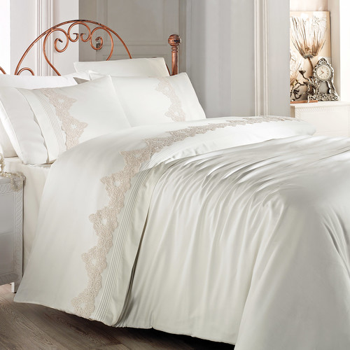 Debage Inc. City Sleep 6 Piece Queen Bistro Duvet Cover Set