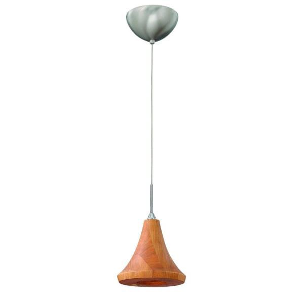Fredrick Ramond Loft - One Light Mini-Pendant, Cherry Finish