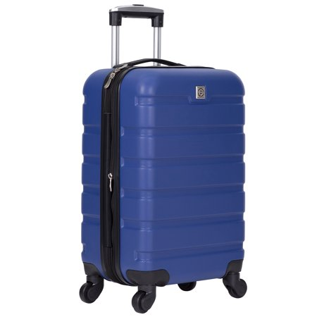 "Protégé 20"" Expandable Spinner Rolling Carry-on - Blue"