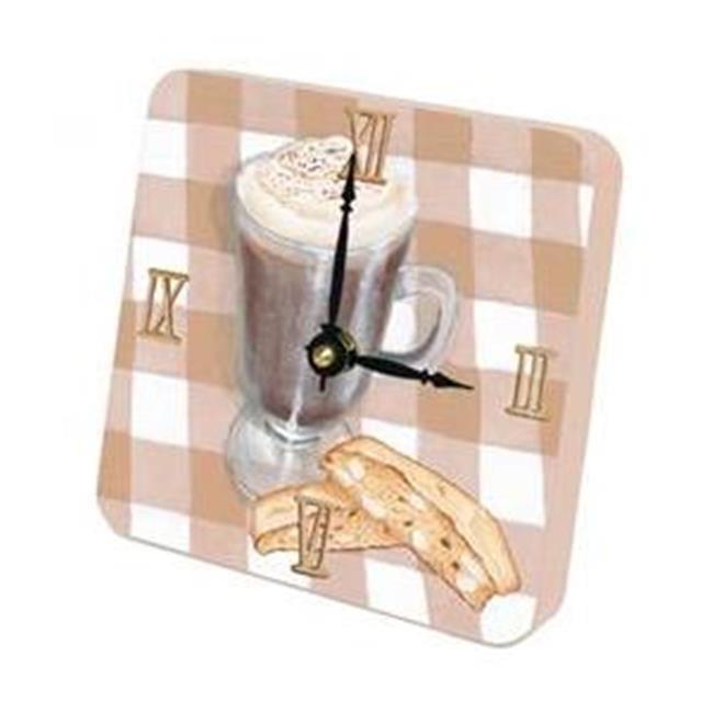 Lexington Studios 23-Tiny Times:23070TT Cappuccino Tiny Times Clock
