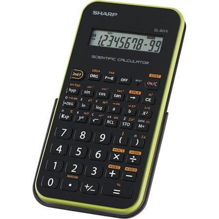 Sharp Scientific Calculator  El 501Xbgr