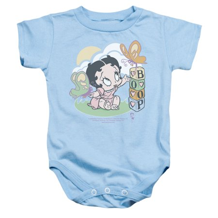 Betty Boop - Blue Butterflies - Infant Snapsuit - 6 Month