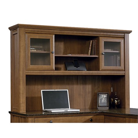 Sauder Appleton Collection, Hutch For L Desk, Sand Pear