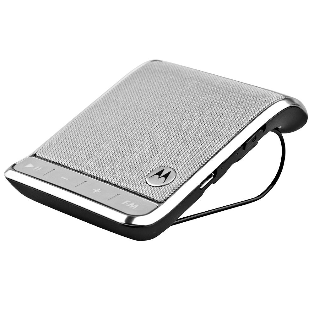 Motorola Roadster 2 Universal Bluetooth In-Car Speakerphone  - Silver (Certified Refurbished)