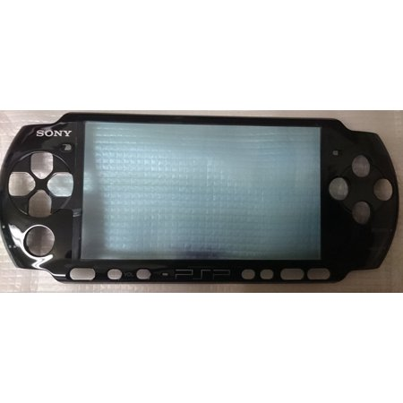Replacement Front Faceplate FOR SONY PSP 3000 ORIGINAL - Black NEW High Quality