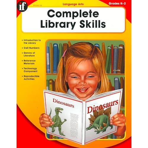 Complete Library Skills - Kindergarten Through Second Grade