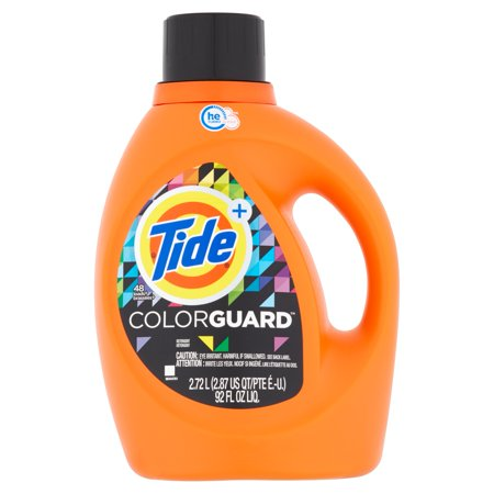 Tide Colorguard He Turbo Clean Liquid Laundry Detergent  48 Loads 92 Oz