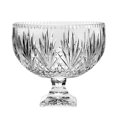 Majestic Crystal Punch Decorative Bowl