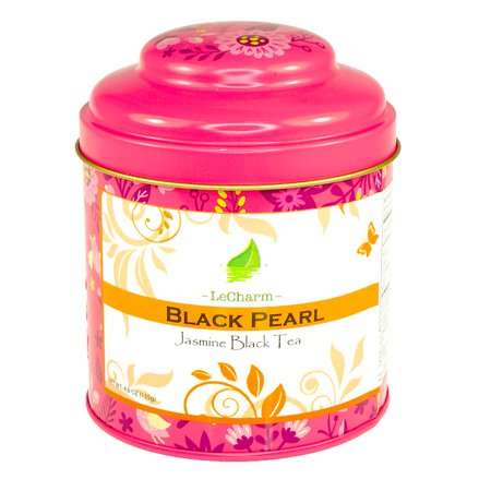 Black Jasmine Pearl Tea 4.8oz/135g (Dragon Pearl Jasmine Tea)