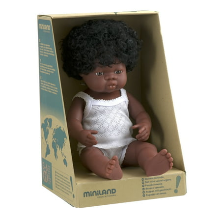 "Baby Doll African Girl (38 cm, 15"")"