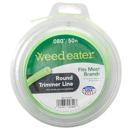 Weed Eater .080x50 Round Replacement String Trimmer Line