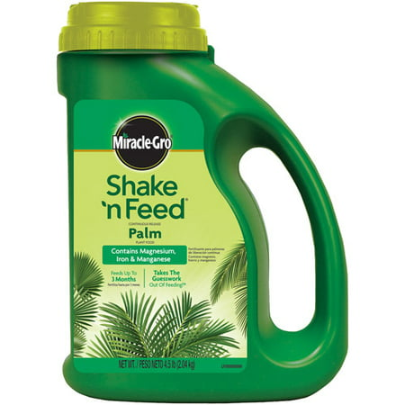 Miracle-Gro Shake 'n Feed Continuous Release Palm Plant Food, 4.5 - Palm Tree Food