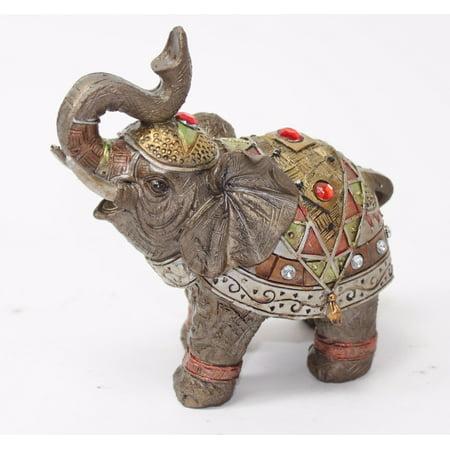feng shui 5 bronze elephant figurine wealth lucky figurine gift home decor. Black Bedroom Furniture Sets. Home Design Ideas