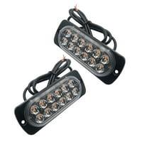 Ultra-thin Car Lights Assembly 36W LED Police Lights 12 LED Car Truck Emergency Side Strobe Warning Light Car-styling