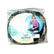 Hermell Softeze Foam Comfort Ring, 16 X 13 Inches, Plaid - 1 Ea