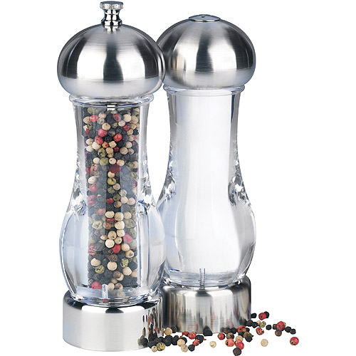 Pepper Mill and Salt Shaker Set by Trudeau Corporation