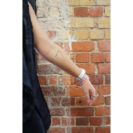 - LAMINATED POSTER Watch Indoors Arm Brick Wall Small Tattoo Poster Print 24 x 36