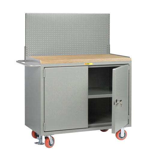 Little Giant USA Mobile Service Butcher Block Top Workbench by Little Giant USA