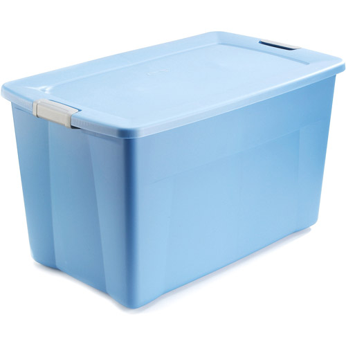 Sterilite 35-Gallon (140-Quart) Latch Storage Box, Set of 4