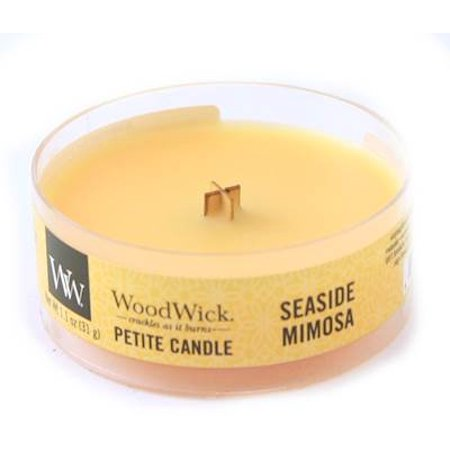 SEASIDE MIMOSA Petite WoodWick 1.1 oz Scented Candles