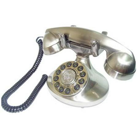 Alexis 1922 Decorator Phone Silver