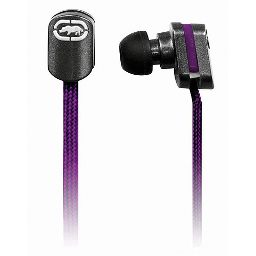 Mizco Ecko Lace Earbuds, Purple