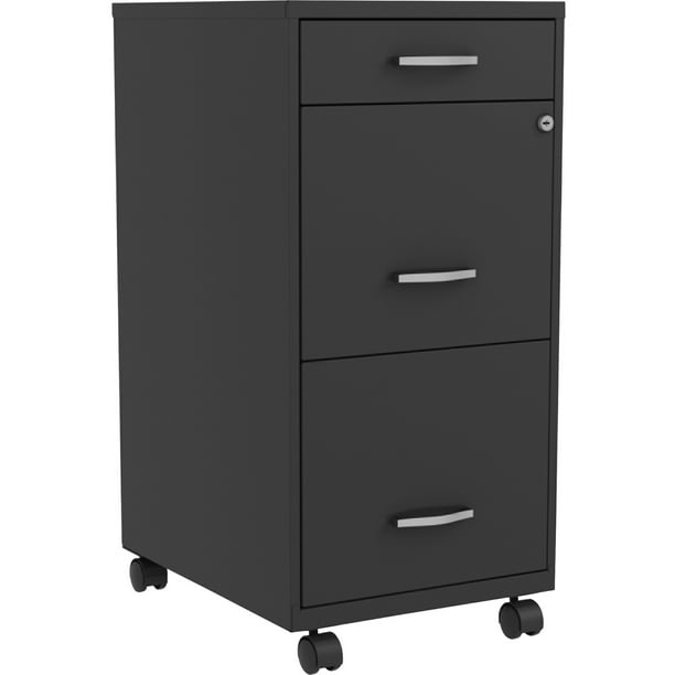 Lorell, SOHO 3-Drawer Steel Mobile File Cabinet