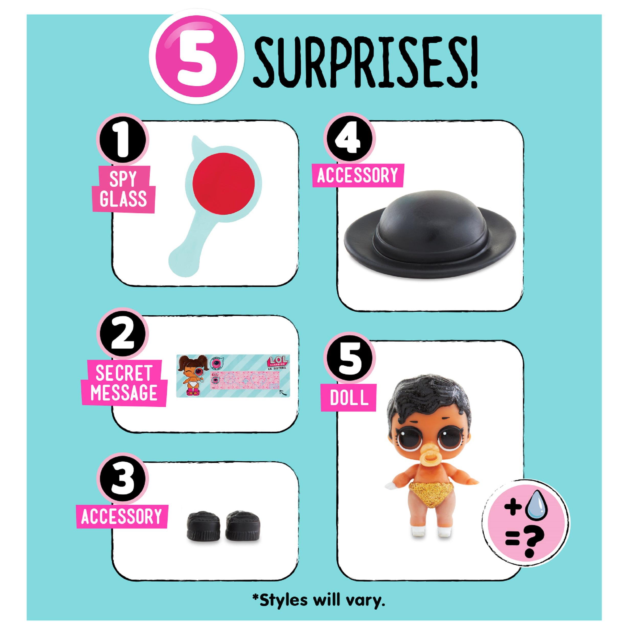 Lil Sisters Ball Eye Spy Series LOL MGA Original 100/% L.O.L Surprise