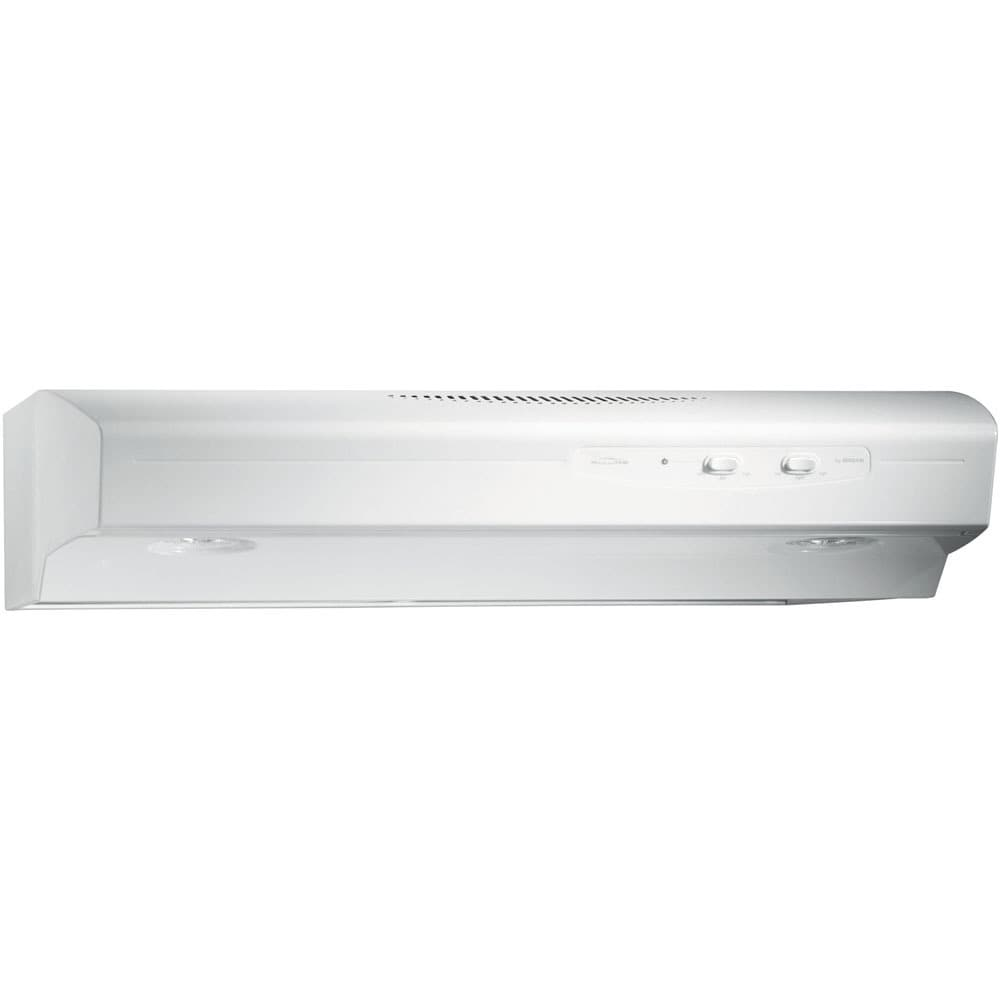 Broan  QS130 Allure Series 30-inch 220 CFM Under Cabinet ...