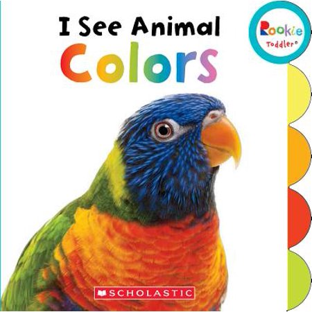 I See Animal Colors (Board Book) (Seek Animals)