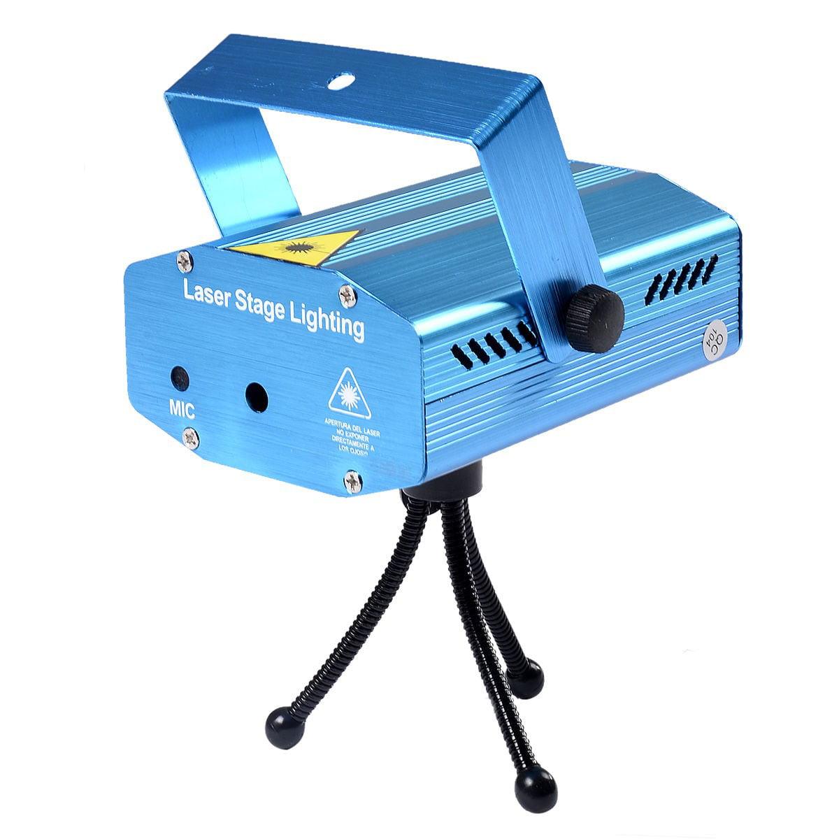 2 Sets R&G Super Mini Projector Laser Stage Show Plug DJ Disco LED Lighting New by Apontus