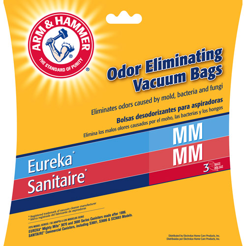 Arm & Hammer 9-Bag Odor Eliminating Vacuum Bags, Eureka MM