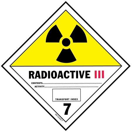 D.O.T. Radioactive III Labels 4