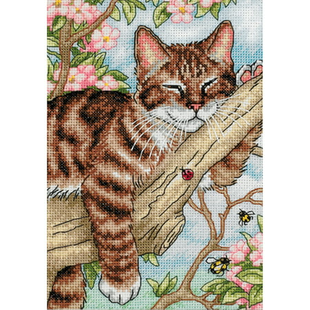 Kittens Counted Cross Stitch (Dimensions Gold Petite Counted Cross Stitch Kit 5