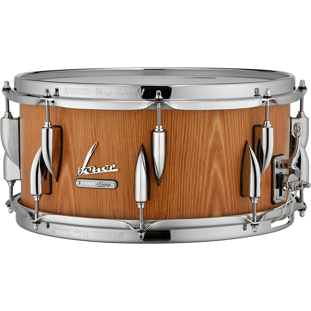 Sonor Vintage Series Snare Drum 14 x 6.5 in. Vintage Natural by Sonor