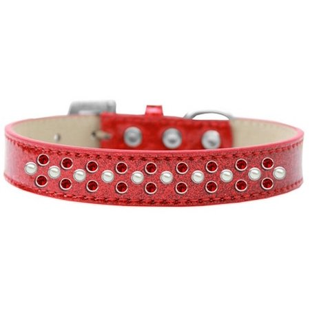 Mirage 616 21 RD 14 Sprinkles Ice Cream Dog Collar Pearl Red Crystals