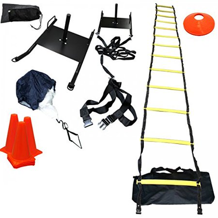 Bluedot Trading Power Sled Speed Ladder Agility Cones (Dslr Agility Kit)