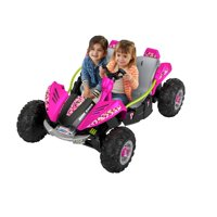 Power Wheels 12V Dune Racer Extreme - Green/Pink/Purple