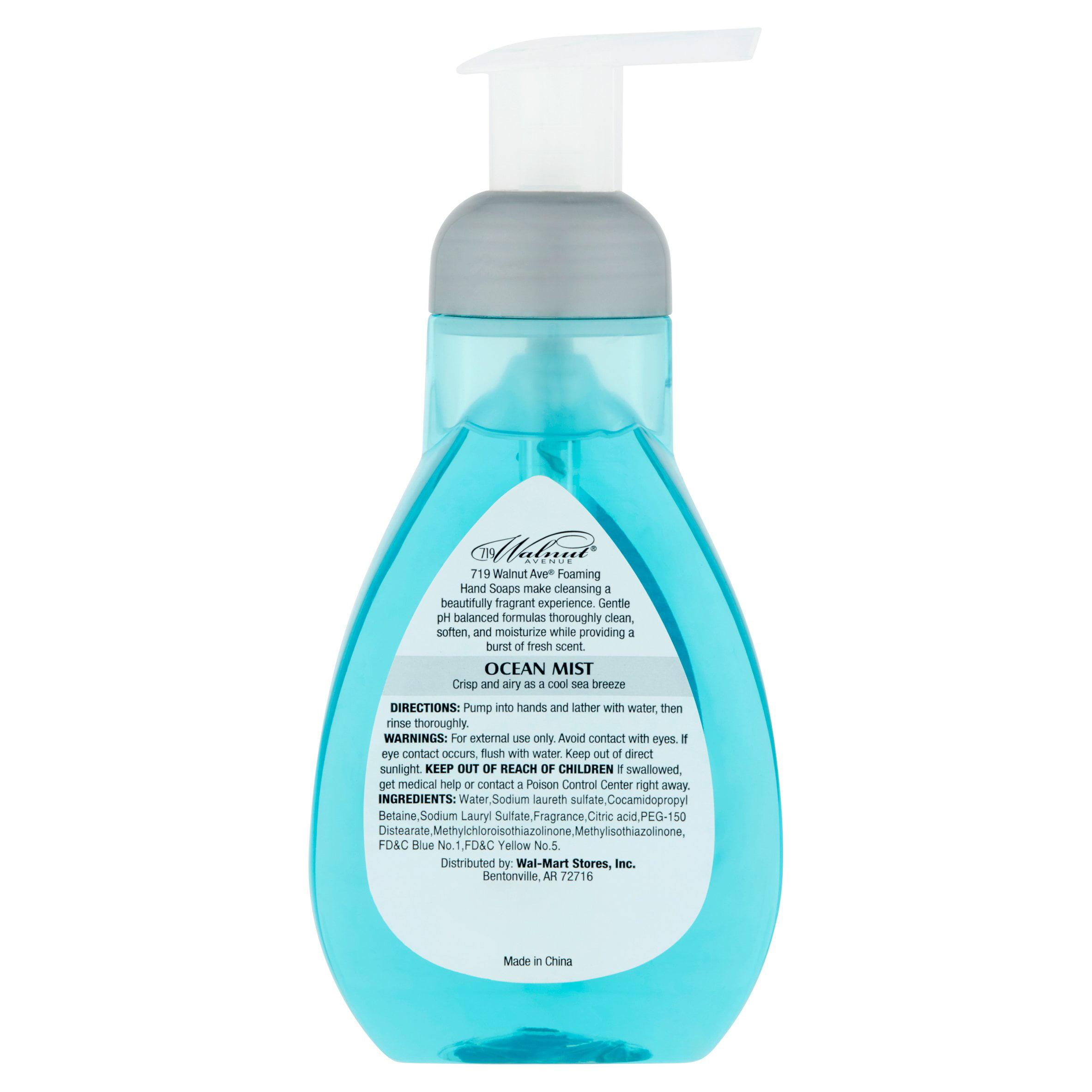 719 Walnut Avenue Ocean Mist Foaming Hand Soap, 12 fl oz - Walmart.com