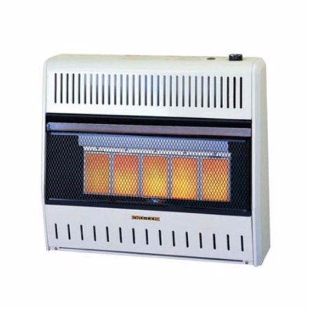 procom mnsd5tpa dual propane natural gas vent free infrared radiant wall heater 30 000 btu. Black Bedroom Furniture Sets. Home Design Ideas
