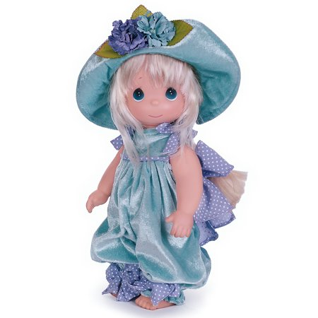 Precious Moments Dolls by The Doll Maker, Linda Rick, Pansy Pooh, Blonde, 12 inch doll (Pooh Doll)